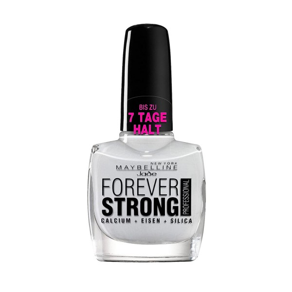 Maybelline forever strong iron laca de uñas 71 blanc pur 1ml