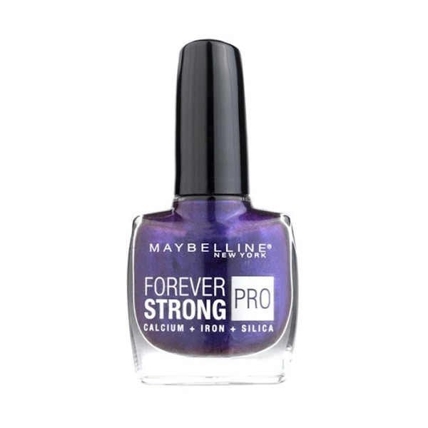 Maybelline forever strong laca de uñas 840 prune reflect 1ml