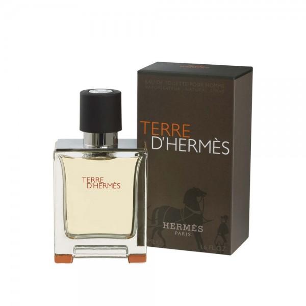Hermes terre d'hermes pour homme eau de toilette 50ml vaporizador