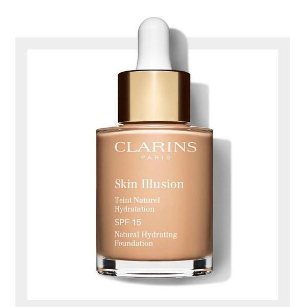 Clarins skin illusion spf15 foundation 108 3 organza 30ml