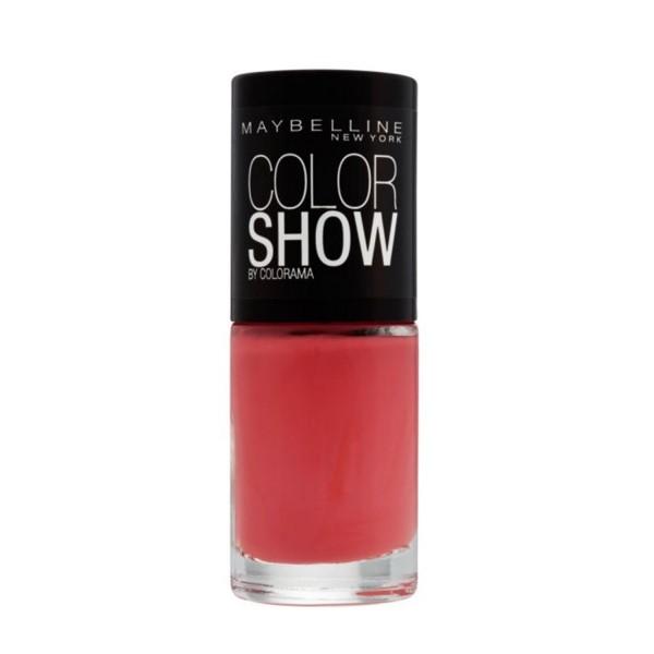 Maybelline color show laca de uñas 342 coral craze 1un